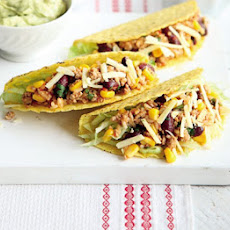 Turkey Chilli & Rice Tacos