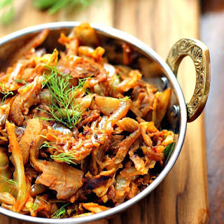 Indian-Style Spiced Stir-Fry Cabbage
