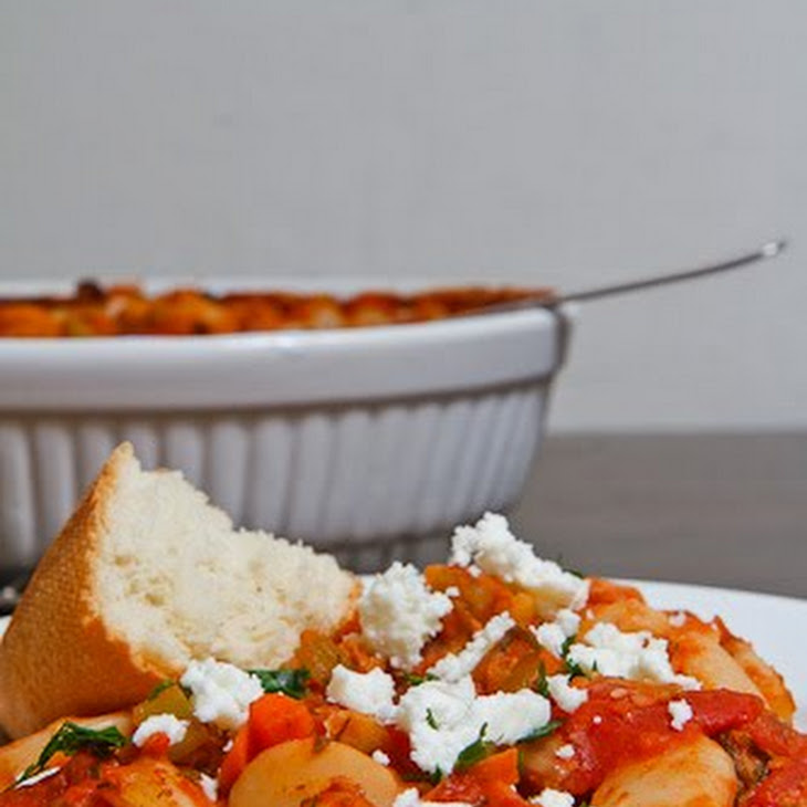 Gigantes Plaki (Greek Baked Beans) Recipes — Dishmaps