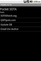 Screenshot of Pocket SOTA