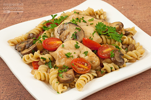 Chicken with Marsala, Tomatoes and Mushrooms Recipe | Yummly