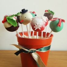 Festive Cake Pops Display