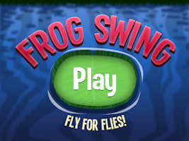 Screenshot of Frog Swing - Crazy Frog Game
