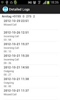 Screenshot of Call Log Manager