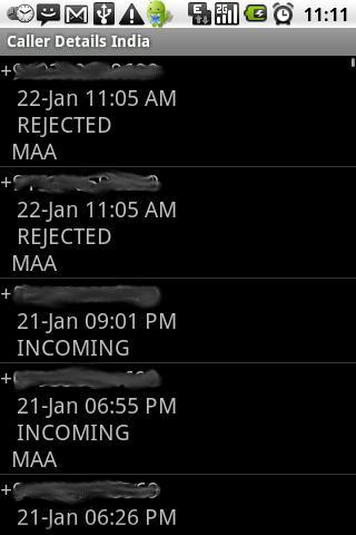 Caller Details India