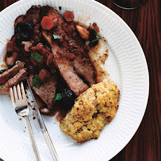 Beef Brisket with Merlot and Prunes