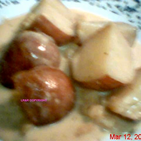 Crock Pot Irish Potatoes