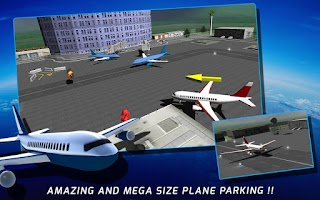 Screenshot of Airport Plane Parking