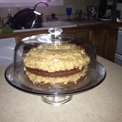 German Chocolate Coconut Pecan Frosting by Jane