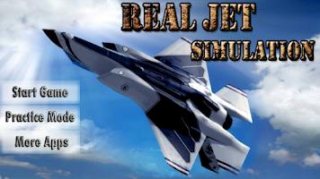 Screenshot of Real Jet Simulator 3D