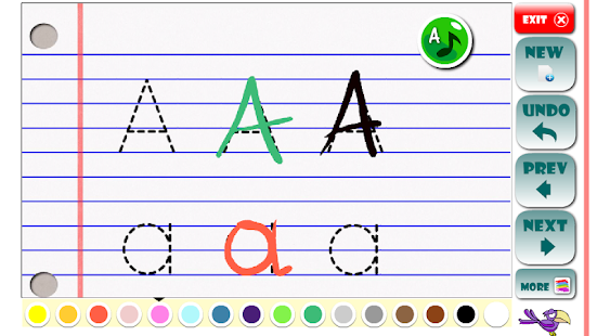 Free Download ABC Learning letters toddlers APK for Samsung