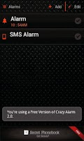 Screenshot of Crazy Alarm