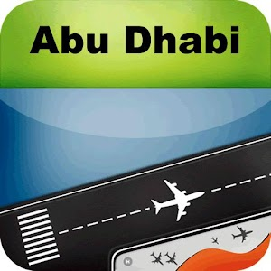 Abu Dhabi Airport+Flight Track