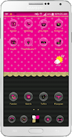 Screenshot of Caramel Go Launcher