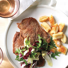 Pork Milanese with Arugula Salad