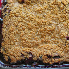 Best Blueberry Rhubarb Crumble