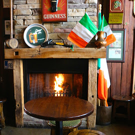 Cozy Irish Pub by Kathy Suttles - Buildings & Architecture Other Interior