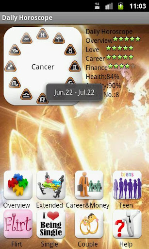 daily-horoscope for android screenshot