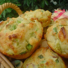 Avocado and Bacon Muffins