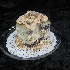Snicker Candy Bar Cake
