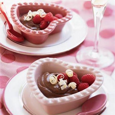 Bittersweet Chocolate Pudding Raspberries Recipes | Yummly