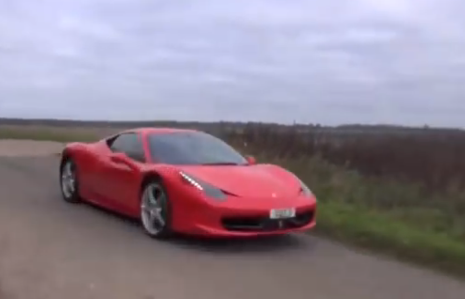 14 year old drives ferrari 458