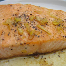 Tasmanian Pepper Poached Salmon With Orange