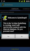 Screenshot of QuiteSleep