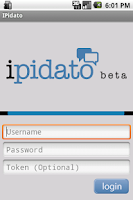 Screenshot of iPidato