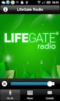 Screenshot of LifeGate Radio