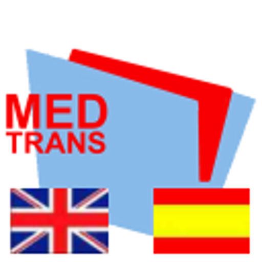 english-spanish-MedTrans 醫療 LOGO-阿達玩APP