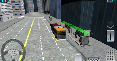 Screenshot of City Bus Driving 3D Simulator