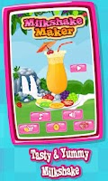 Screenshot of Milkshake Maker : Cooking Game