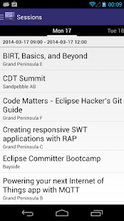 EclipseCon 2014 - screenshot