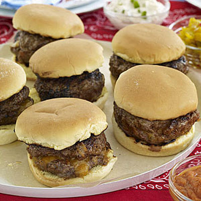 Smoky Barbecue Burgers