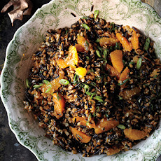Wild Rice, Farro, and Tangerine Salad