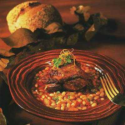 Braised Lamb Shanks with White Beans