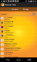 Screenshot of Parciais Cartola FC
