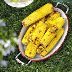 BBQ corn with garlic & chilli butter