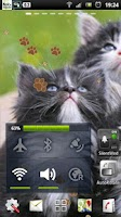 Screenshot of Kitten Live Wallpaper