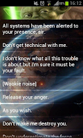 Screenshot of Star Wars Soundboard