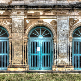 Portões do Convento  by Aldemir Vieira - Buildings & Architecture Architectural Detail ( hdri, iguape, santiago, cachoeira )