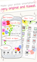 Screenshot of Homee launcher - cuter/kawaii