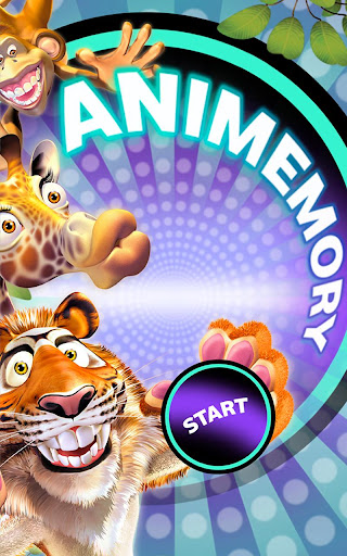 Animemory memory game for all