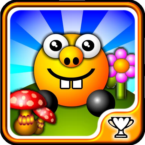 鮑勃橙 -  3D平台遊戲 LOGO-APP點子