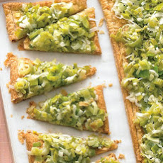 Gorgonzola Honey Leek Tart Recipes — Dishmaps