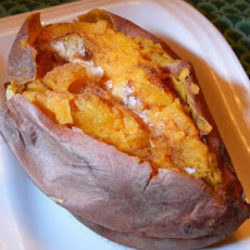 Baked Sweet Potatoes With Cinnamon Butter