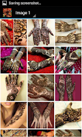 Screenshot of Awesome Mehndi Design