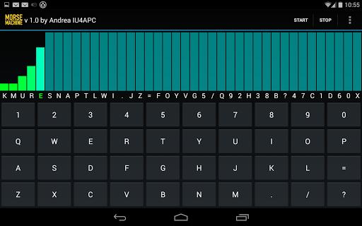 Morse Machine for Ham Radio - screenshot