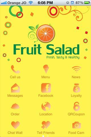 FRUIT SALAD - JORDAN